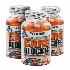 3 x Weider Carb Blocker, Kapseln