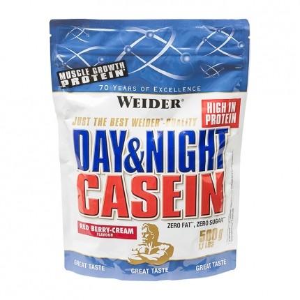 Overnight Protein 100% Casein, Rote Früchte-Sahne, Pulver (500 g)