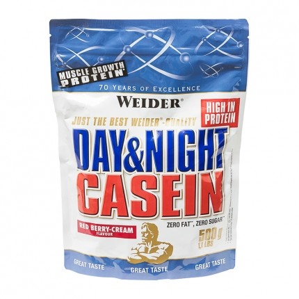 Weider 100% Casein Red Fruits-Cream Powder