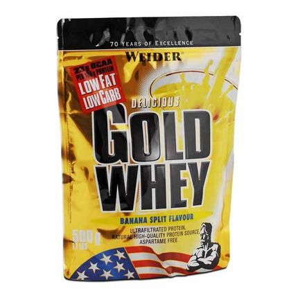 Weider Gold Whey Banana Split Powder