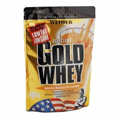 Weider Gold Whey Mango-Passion Fruit Powder