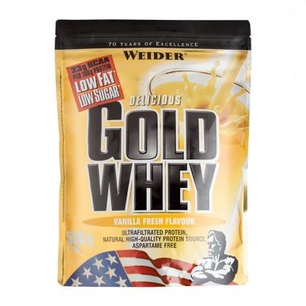 Weider Gold Whey Vanilla Powder