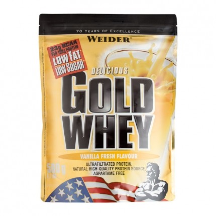 Weider, Gold Whey Vanille, Poudre