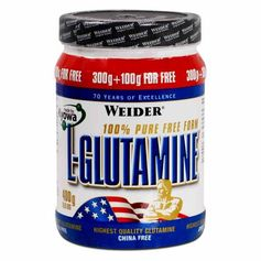 Weider L-Glutamin, pulver