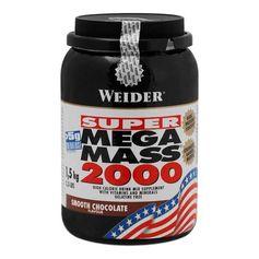 Weider Mega Mass 2000 Choklad, pulver