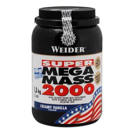 Weider Mega Mass 2000 Vanille, Pulver