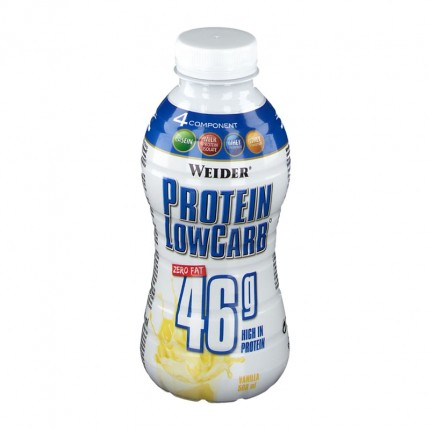 Weider Muscle Low Carb Drink Vanille, Flasche