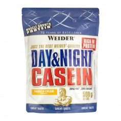 Weider Day & Night Casein Vanilje-Fløde, pulver