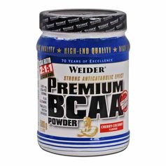 Weider Premium BCAA Kirsebær-Kokos, pulver