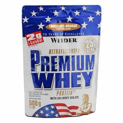 Weider, Premium lactosérum chocolat-nougat, poudre