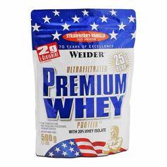 Weider Premium Whey Jordbær-Vanilie, pulver
