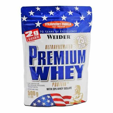 Weider Premium Whey Strawberry-Vanilla Powder