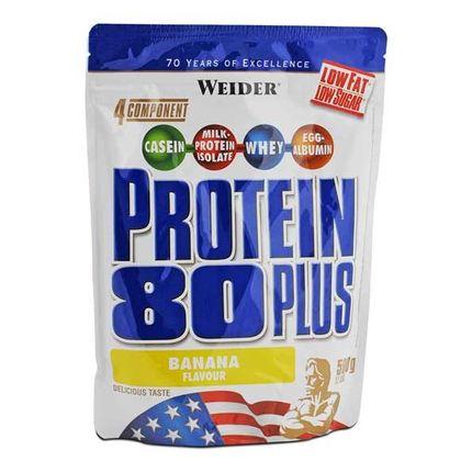 Weider Protein 80 Plus Banane, Pulver