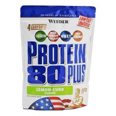 Weider Protein 80 Plus Citruskvarg, pulver