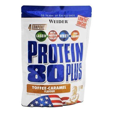 Weider Protein 80 Plus Toffee-Karamell, pulver