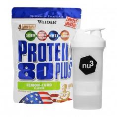 Weider Protein 80 Plus Citrus-Quark + nu3 SmartShake