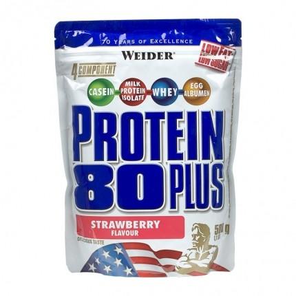 Weider Protein 80 Plus Jordgubb, pulver