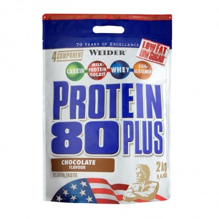 Weider Protein 80 Plus Schoko, Pulver