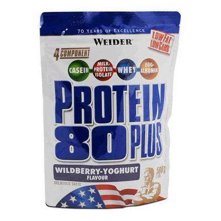 Weider Protein 80 Plus Skogsbær-Yoghurt , pulver