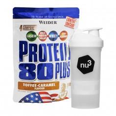 Weider Protein 80 Plus Toffee-Caramel + nu3 SmartShake