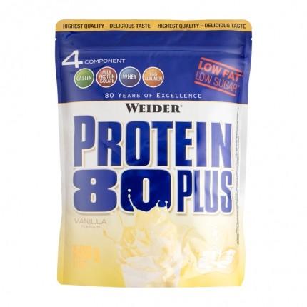 Weider, Protein 80 Plus vanille, poudre