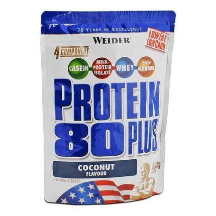 Weider, Protéine 80 Plus coco, poudre