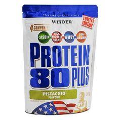 Weider, Protéine 80 Plus pistache, poudre
