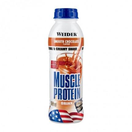 Weider Muscle Protein Drink Schoko, Flasche