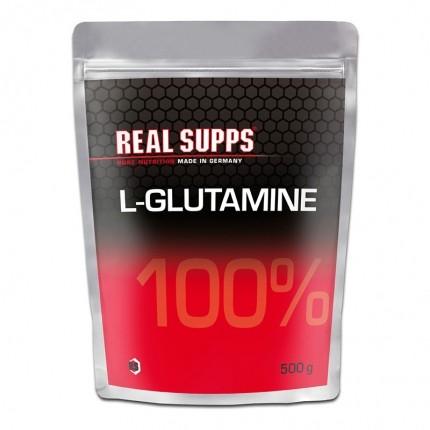 Real Supps 100% L-Glutamine, Pulver