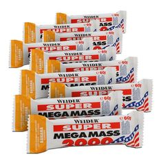 Weider Super Mega Mass 2000 Banana Bars