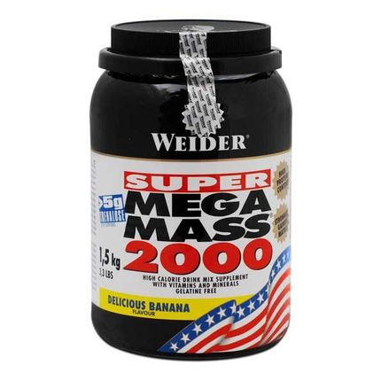 Weider Super Mega Mass 2000 Banana Powder