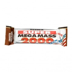 Weider Super Mega Mass 2000 Chocolate Bar