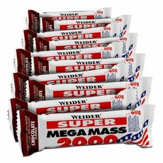 Weider Super Mega Mass 2000 Chocolate Bars