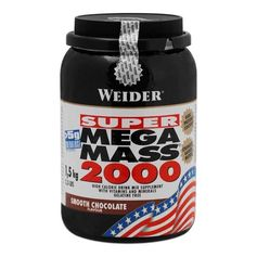 Weider Super Mega Mass 2000 Chocolate Powder