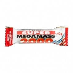 Weider Super Mega Mass 2000 Strawberry Bar