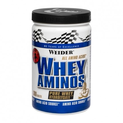 Weider Whey Amino, tabletter