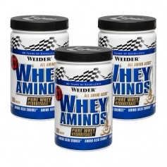 3 x Weider Whey Amino, tabletter