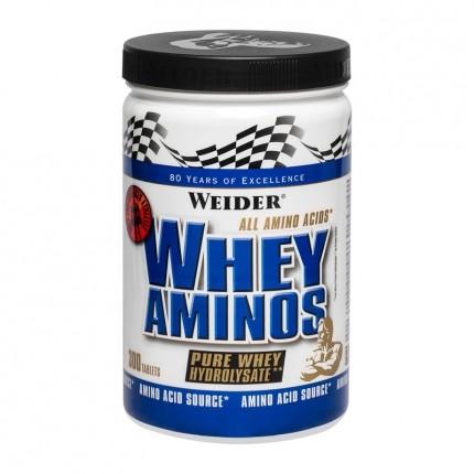 3 x Weider Whey Amino, Tabletten