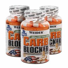 3 x Weier Carb Blocker, kapsler
