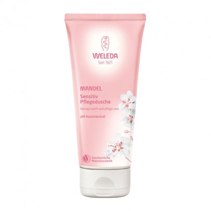 Köpa billiga Weleda Almond Sensitive Skin Body Wash online