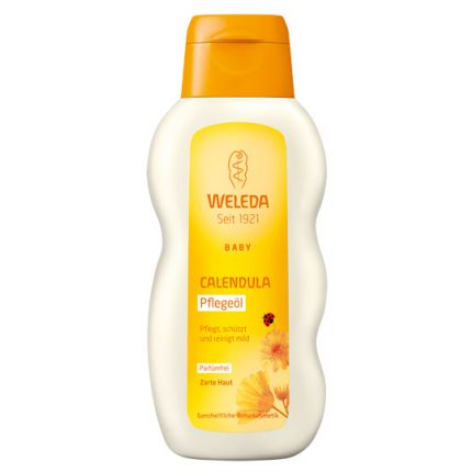 Weleda Baby & Child Calendula Oil - Without Perfume