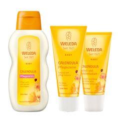 Weleda Baby Calendula Schützendes Hautpflege-Set