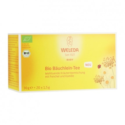 Weleda Bio Bäuchlein-Tee (20 Beutel)