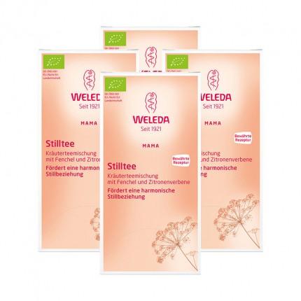 4 x Weleda Stilltee