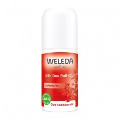 Weleda 24h Deo Roll-On, Granatapfel