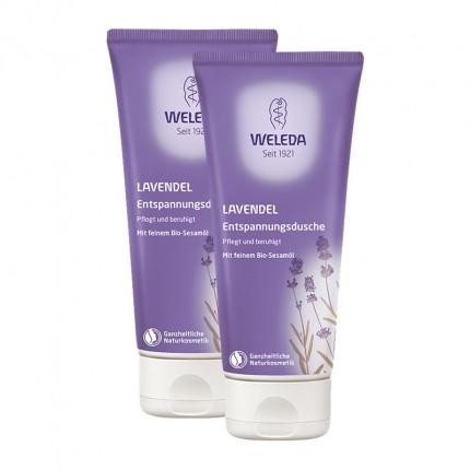 Weleda Lavendel-Entspannungsdusche Doppelpack