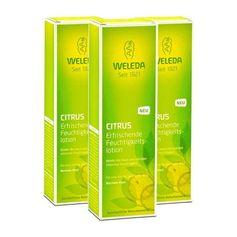 3 x Weleda Citrus Erfrischende Feuchtigkeitslotion