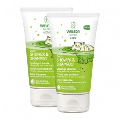 Weleda Kids 2in1 Shower&Shampoo, Spritzige Limette