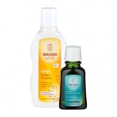 Weleda Intensiv-Haarpflege-Set für trockenes Haar