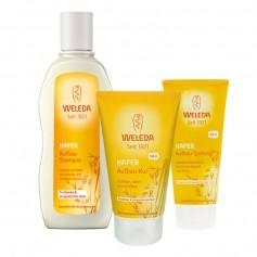 Weleda Hafer Haarpflege-Set für trockenes und strapaziertes Haar